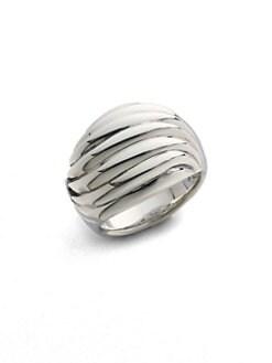 David Yurman - Small Sculpted Cable Ring