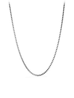 David Yurman - Sterling Silver Chain Link Necklace