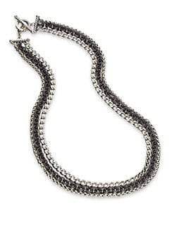 David Yurman - Multi-Row Chain Link Bracelet/Two-Tone