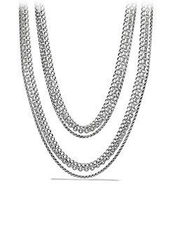 David Yurman - Multi-Row Chain Necklace