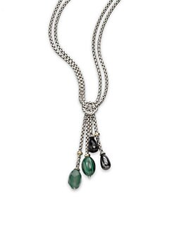David Yurman - Semi-Precious Multi-Stone Y Necklace