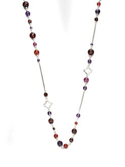 David Yurman - Semi-Precious Multi-Stone Station Necklace