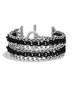 David Yurman - Sterling Silver Multi-Chain Bracelet