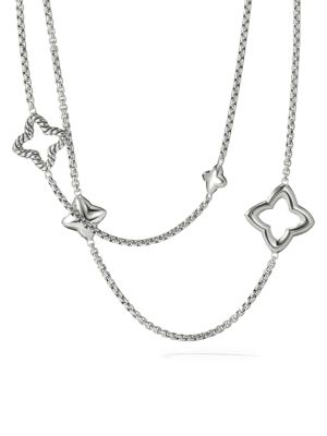 Quatrefoil Chain Necklace