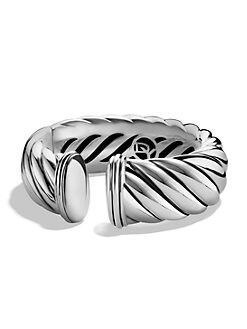 David Yurman - Sterling Silver Cuff Bracelet