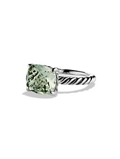 David Yurman - Prasiolite and Sterling Silver Ring