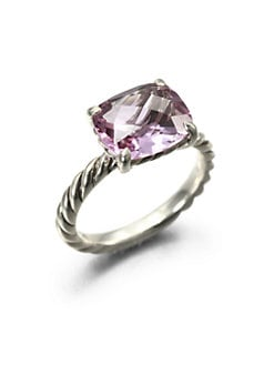 David Yurman - Amethyst & Sterling Silver Ring