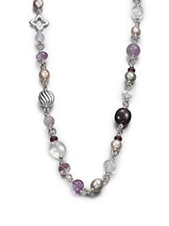 David Yurman - Semi-Precious Multi-Stone Long Necklace