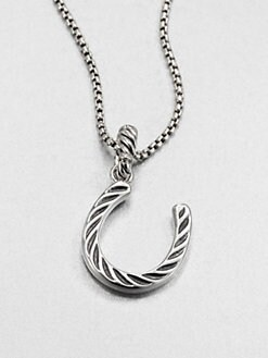 David Yurman - Sterling Silver Horseshoe Charm