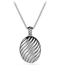 David Yurman - Sterling Silver Locket