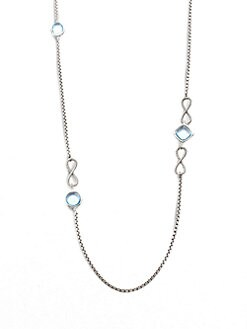 David Yurman - Topaz & Sterling Silver Necklace