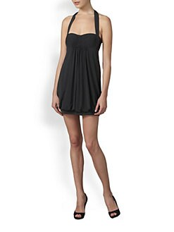 BCBGMAXAZRIA - Jersey Bubble Mini Dress