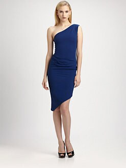 BCBGMAXAZRIA - Asymmetrical Lesli Dress
