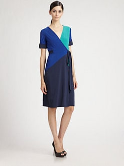 BCBGMAXAZRIA - Caitlin Colorblock Dress