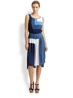 BCBGMAXAZRIA - Rosa Colorblock Dress