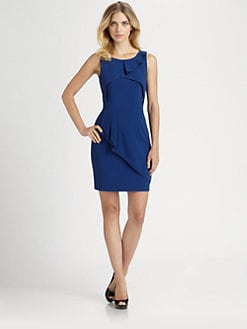 BCBGMAXAZRIA - Siri Ruffle Drape Dress