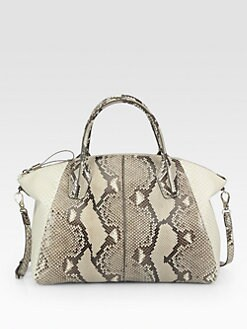 Tod's - Python Medium Duffle Bag