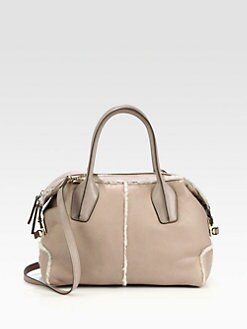 Tod's - D-Styling Shearling Duffle Bag