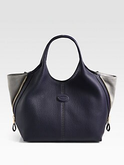Tod's - Laterali Zip Small Shopping Bag