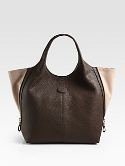 Tod's - Laterali Zip Shopping Bag