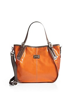 Tod's - New G Sacca Piccola Coated Canvas Satchel