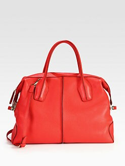 Tod's - Large D-Styling Bauletto Top Handle Bag