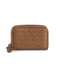 Bottega Veneta - Zip-Around Coin Purse Wallet