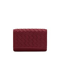 Bottega Veneta - Woven Business Card Case