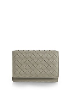 Bottega Veneta - Intrecciato Small Flap Card Case