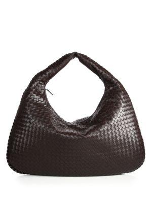bottega veneta female 188971 veneta maxi hobo bag