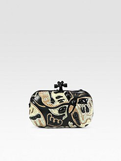 Bottega Veneta - Butterfly Mixed-Media Clutch
