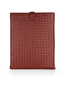 Bottega Veneta - Woven Leather iPad Case