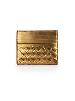 Bottega Veneta - Intreccito Card Case