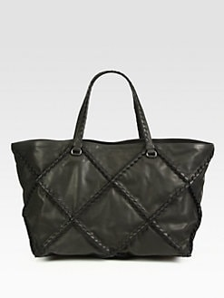 Bottega Veneta - Lattice Medium Tote Bag