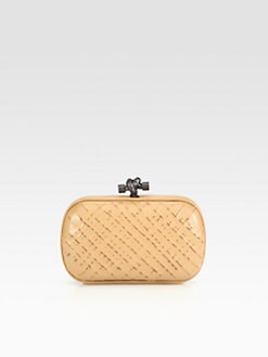 Bottega Veneta - Ricamo Rete Knot Mini Clutch