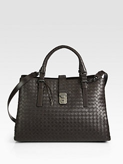 Bottega Veneta - Leggero Intrecciato Woven Tote