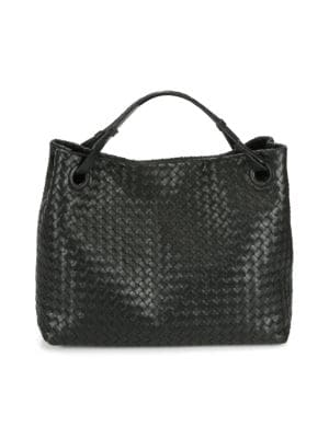 Intrecciato Top-Handle Bag