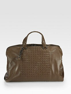 Bottega Veneta - Large Woven Leather Satchel