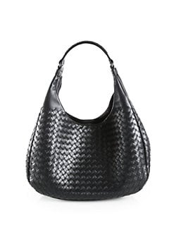 Bottega Veneta - Medium Interecciato Hobo