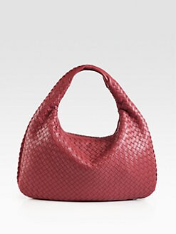Bottega Veneta - Veneta Woven Medium Hobo