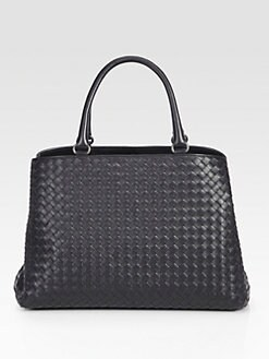 Bottega Veneta - Milano Medium Woven Tote
