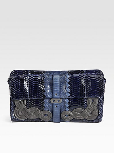 Bottega Veneta Large Cobra Clutch