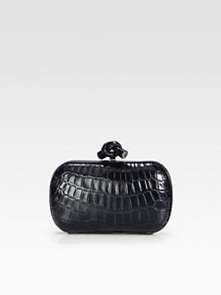 Bottega Veneta - Crocodile Clutch
