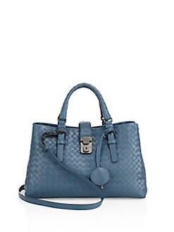 Bottega Veneta - Roma Three-Section Small Tote