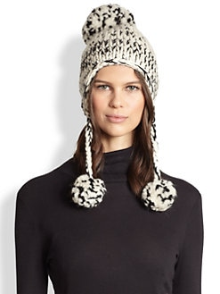 Eugenia Kim - Skye Wool/Alpaca Hand-Knit Ear-Flap Hat