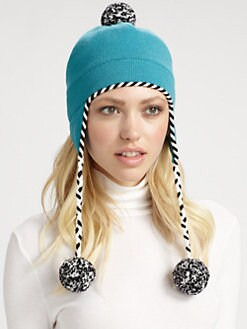 Kate Spade New York - Big Apple Merino Wool Ski Hat