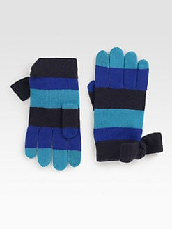 Kate Spade New York - Striped Wool Gloves