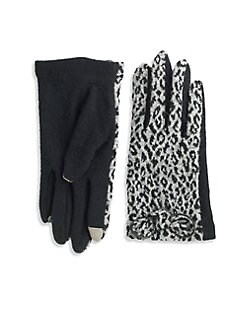 Echo - Cheetah Touch Bow Gloves