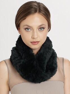 Saks Fifth Avenue Collection - Rabbit Fur Infinity Loop