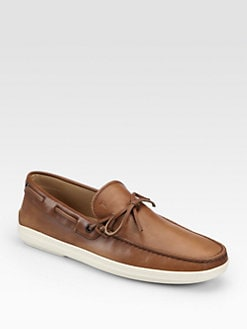 Tod's - Laccetto Marlin Leather Moccasins